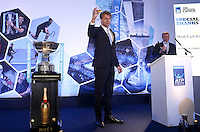 Chris Kermode. ATP Executive Chairman and President, and Andrew Castle present the Top 8 players in the world on the ATP Tour as they attend the Official Launch of the ATP World Tour Finals at City Hall, London, 2015