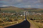saphir hunter, Ilakaka mines and village..Ilakaka ville des chercheurs de saphirs, au sud du parc de l'Isalo