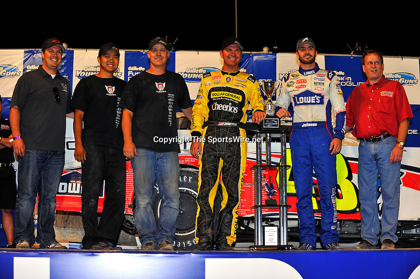 Jun 9, 2010; 11:11:02 PM; Rossburg, OH., USA; The sixth running of the Gillette Fusion ProGlide Prelude to the Dream XVI  Dirt Late Models at the Eldora Speedway.  Mandatory Credit: (thesportswire.net)