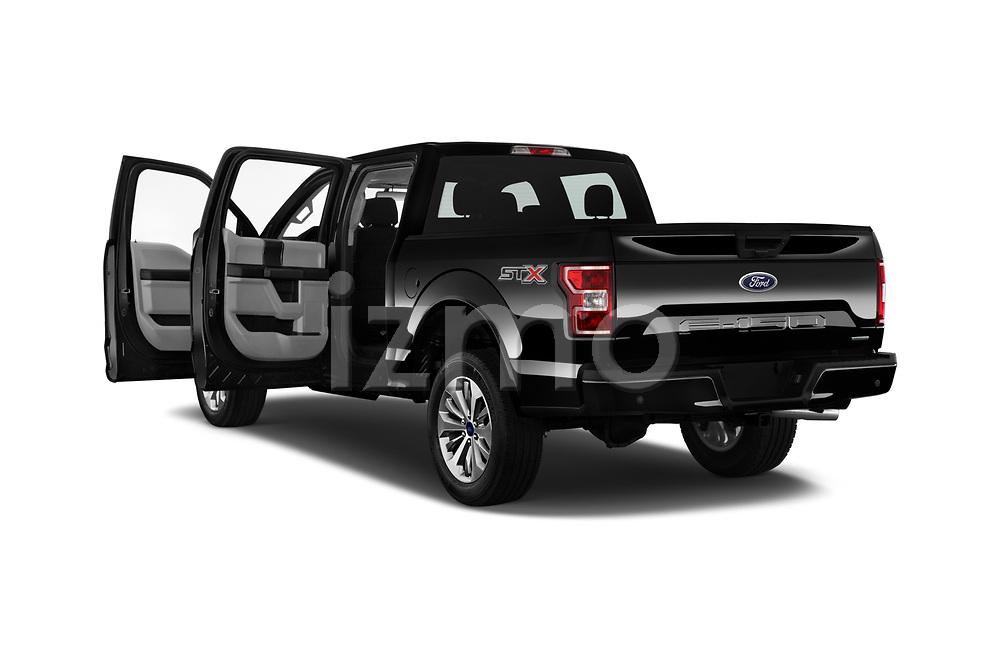 Car images of 2019 Ford F-150 XL-SuperCrew 2 Door Pick-up Doors