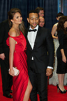 WASHINGTON, DC - APRIL 28:  Christine Teigen and John Legend attend the 2012 White House Correspondents Dinner at the Washington Hilton Hotel in Washington, D.C  on April 28, 2012  ( Photo by Chaz Niell/Media Punch Inc.)