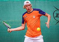 The Hague, Netherlands, 09 June, 2018, Tennis, Play-Offs Competition, Niels Lootsma (NED)<br /> Photo: Henk Koster/tennisimages.com