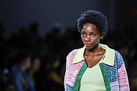 NOVA YORK, EUA,08/09/2019 -  Modelo durante desfile  Lily no New York Fashion Week na cidade de Nova York neste domingo, 08. (Foto: Vanessa Carvalho/Brazil Photo Press)