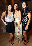 From left: Jenny Rizzuto, Wendy Patterson and Sarah Simon at a cocktail party at the home of Becca Cason Thrash featuring a trunk show from Christos Garkinos, owner of the L.A. boutique Decadestwo Wednesday April 21,2010.. (Dave Rossman Photo)