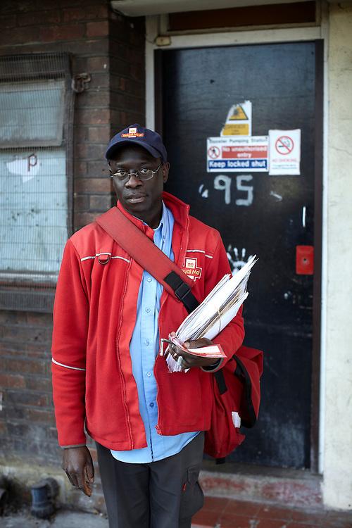 © JOHN ANGERSON .The Great British postman.Jackson - Queensbridge Road.Walk number 21- Queensbridge