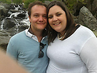 "Pictured: Ben Davies (L) with his fiancee Emily Russ.<br /> Re: Tributes have been paid to a senior member of staff at the Welsh Conservatives who died following an accident on his stag do.<br /> Ben Davies, 32, died on Sunday, a week after falling into a coma while on the Greek island of Mykonos.<br /> It is understood Mr Davies, from Cardiff, suffered a head injury following a fall.<br /> The deputy chief of staff of the Tory group in the assembly was due to marry his fiancee Emily Russ in three weeks.<br /> Vincent Bailey, a close friend and colleague of Mr Davies, said: ""He was incredibly bright and such a big character."