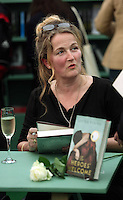 Saturday 24 May 2014, Hay on Wye UK<br /> Pictured: Louisa Young<br /> Re: The Telegraph Hay Festival, Hay on Wye, Powys, Wales UK.