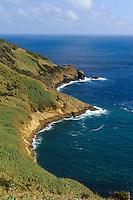 Caldeira do Inferno auf Monte da Guia auf der Insel Faial, Azoren, Portugal