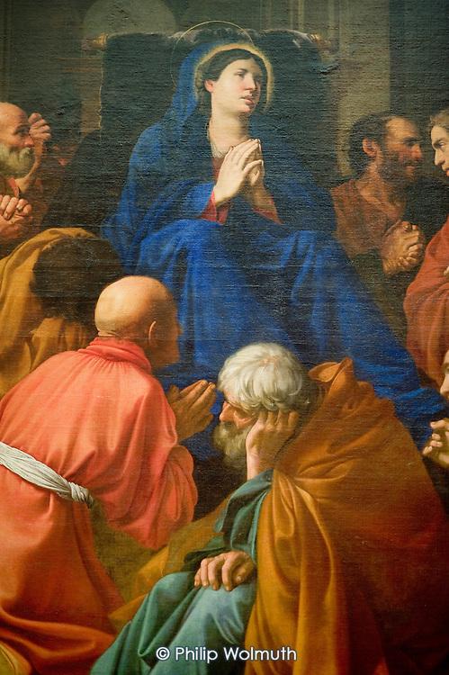 The Dormition of the Virgin by Carlo Saraceni (1612), Metropolitan Museum of Art, Manhattan, New York.