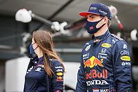 15th July 2021, Silverstone Circuit, Northampton, England;  VERSTAPPEN Max (ned), Red Bull Racing Honda RB16B during the Formula 1 Pirelli British Grand Prix 2021, 10th round of the 2021 FIA Formula One World Championship