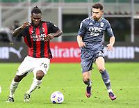 Milano 01-05 2021<br /> Stadio Giuseppe Meazza<br /> Serie A  Tim 2020/21<br /> Milan - Benevento<br /> Nella foto:  Franck Kessie                                    <br /> Antonio Saia Kines Milano