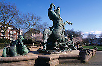 Deutschland, Hamburg, Stuhlmannbrunnen in Altona