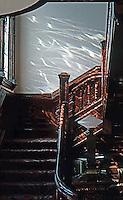 San Diego: Quartermass House Interior--Stairs. Photo '78.