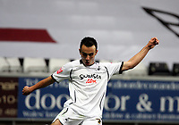 Pictured: Leon Britton of Swansea City in action <br /> Re: Coca Cola Championship, Swansea City Football Club v Southampton at the Liberty Stadium, Swansea, south Wales 25 October 2008.<br /> Picture by Dimitrios Legakis Photography, Swansea, 07815441513