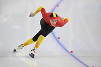 SPEEDSKATING: HEERENVEEN: 24-01-2021, IJsstadion Thialf,  ISU World Cup I, Nil Llop (SPAIN), ©photo Martin de Jong