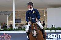 10th September 2021; Circo Massimo Stadium Rome, Italy; Longines Global Equestrian Champions Tour:  Jur Vrieling