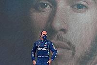 15th November 2020; Istanbul Park, Istanbul, Turkey; FIA Formula One World Championship 2020, Grand Prix of Turkey, Race Day;  44 Lewis Hamilton GBR, Mercedes-AMG Petronas Formula One Team on the podium