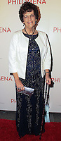 """NEW YORK, NY - NOVEMBER 12: Philomena Lee at the New York Premiere Of The Weinstein Company's """"Philomena"""" held at Paris Theater on November 12, 2013 in New York City. (Photo by Jeffery Duran/Celebrity Monitor)"""