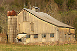 old barn along route 220N in Spring