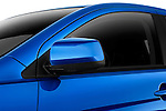 Side mirror detail view of a 2012 Mitsubishi Lancer Sportback GT