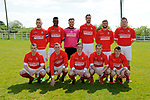 Newmarket Celtic before their Clare Cup Final win over over Bridge United A at Frank Healy Park. Photograph by John Kelly.