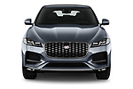 Car photography straight front view of a 2021 Jaguar F-Pace S 5 Door SUV Front View