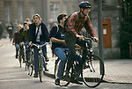 'OXFORD UNIVERSITY' 1995, BIKES ARE THE MAIN FORM OF STUDENT TRANSPORT IN OXFORD, 1995