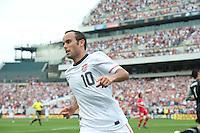 Landon Donovan, USA vs Turkey, Philadelphia, PA, Saturday, May 29, 2010.