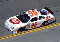 Feb 07, 2009; Daytona Beach, FL, USA; NASCAR Sprint Cup Series driver Bobby Labonte during practice for the Daytona 500 at Daytona International Speedway. Mandatory Credit: Mark J. Rebilas-