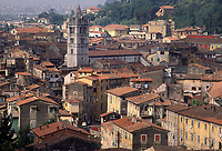 - Carrara, town panorama with Dome bell tower<br />