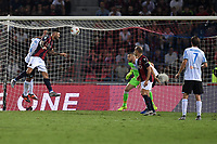 Roberto Soriano of Bologna FC scores the winning goal of 1-0 <br /> Bologna 30/08/2019 Stadio Renato Dall'Ara <br /> Football Serie A 2019/2020 <br /> Bologna FC - SPAL<br /> Photo Andrea Staccioli / Insidefoto