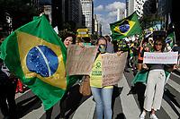 21.06.2020 - Ato a favor de Jair Bolsonaro em SP