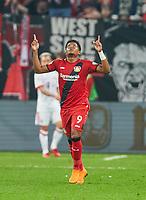 Leon BAILEY, Nr. 9Lev celebration <br /> BAYER 04 LEVERKUSEN - FC BAYERN MUENCHEN 2-6<br /> Football DFB-Pokal semi final , Leverkusen17.04.2018 ,  2017/2018, FCB, Muenchen<br />   <br />  *** Local Caption *** © pixathlon