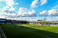 4th May 2021; Kenilworth Road, Luton, Bedfordshire, England; English Football League Championship Football, Luton Town versus Rotherham United; Luton Town and Rotherham during the warm up