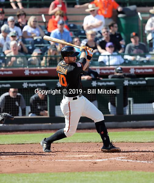Evan Longoria - San Francisco Giants 2019 spring training (Bill Mitchell)