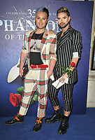 """The Vivienne and David Ludlow at the """"The Phantom Of The Opera"""" 35th anniversary gala performance, Her Majesty's Theatre, Haymarket, on Monday 11th October 2021, in London, England, UK. <br /> CAP/CAN<br /> ©CAN/Capital Pictures"""