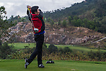 Players in action during the Practice Game during the Royal Trophy  Europe vs Asia Golf Championship at the Dragon Lake Golf Club in Guangzhou, China on 17 December 2013. Photo by Xaume Olleros / The Power of Sport Images