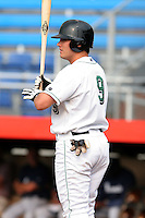 Jamestown Jammers Tanner Rogers during a NY-Penn League game at Russell Diethrick Park on July 9, 2006 in Jamestown, New York.  (Mike Janes/Four Seam Images)