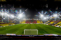 General view of Vicarage Road Stadium ahead of the Sky Bet Championship behind closed doors match between Watford and Wycombe Wanderers at Vicarage Road, Watford, England on 3 March 2021. Photo by David Horn.