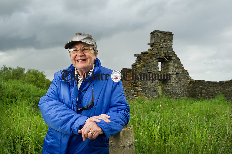 """Monica Stirling of Clohannatinna, Mullagh who has written a book of poetry entitled """"Musings And Memories"""" which will be launched in the Quilty Tavern on Saturday 21st June at 8pm. Photograph by John Kelly."""