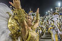 Rio de Janeiro (RJ), 23/02/2020 -Carnaval - Rio - Apresentacao da escola Grande Rio no primeiro dia de desfile das escolas de samba do Grupo Especial do Rio de Janeiro neste domingo (23) na Marques de Sapucai. Na foto a atriz Antonia Fontenelle (Foto: Ellan Lustosa/Codigo 19/Codigo 19)