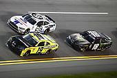 #19: Brandon Jones, Joe Gibbs Racing, Toyota Supra Menards/Pelonis, #98: Chase Briscoe, Stewart-Haas Racing, Ford Mustang Ford Performance Racing School, #18: Riley Herbst, Joe Gibbs Racing, Toyota Supra Monster Energy