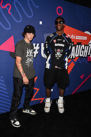 LOS ANGELES, CA - JUNE 30: (L-R) Zack Lugo and Wisdom Kave attend FOX's Tubi & TikTok - First Ever Live Long-Form Reunion Event at Sneakertopia at HHLA on June 30, 2021 in Los Angeles, California. (Photo by Frank Micelotta/FOX/PictureGroup)