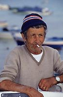 Europe/Italie/Sicile/Env de Palerme : Port de Mondello - Portrait
