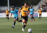 Alfie Pavey of Maidstone United in action during Maidstone United vs Eastbourne Borough, Vanarama National League South Football at the Gallagher Stadium on 9th October 2021
