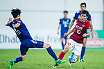 Guangzhou Midfielder Zheng Zhi (R) in action against Suwon Midfielder Lee Jong Sung (L) during the AFC Champions League 2017 Group G match between Guangzhou Evergrande FC (CHN) vs Suwon Samsung Bluewings (KOR) at the Tianhe Stadium on 09 May 2017 in Guangzhou, China. Photo by Yu Chun Christopher Wong / Power Sport Images