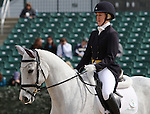 April 23, 2014: Copycat Chloe and Allison Springer compete on the first day of Dressage at the Rolex Three Day Event in Lexington, KY at the Kentucky Horse Park.  Candice Chavez/ESW/CSM