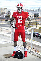 Washington, DC - Sunday JAN 26, 2020: Photo of the DC Defenders uniform at DC Defenders open house at  Audi Field in Washington, DC. (Photo by Phil Peters/Media Images International)