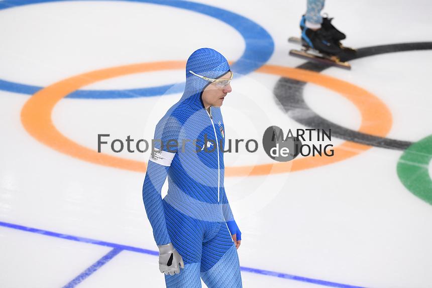 OLYMPIC GAMES: PYEONGCHANG: 19-02-2018, Gangneung Oval, Long Track, 500m Men, Mirko Giacomo Nenzi (ITA), ©photo Martin de Jong