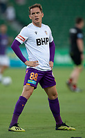 27th March 2021; HBF Park, Perth, Western Australia, Australia; A League Football, Perth Glory versus Newcastle Jets; Neil Kilkenny of the Perth Glory during the team warm up